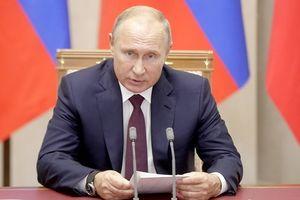 Tổng thống Vladimir Putin: Thảm kịch đẫm máu ở Crimea là một tội ác