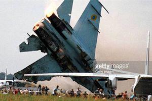 Su-27 rơi, phi công Mỹ mất mạng