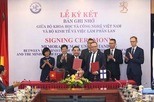Việt Nam - Phần Lan đẩy mạnh hợp tác KH-CN, đổi mới sáng tạo