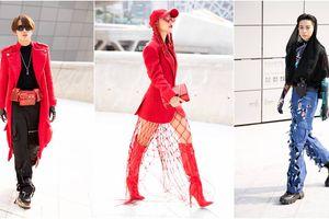 Chào sân Seoul Fashion Week, tín đồ Việt gây chú ý với 'lưới đánh cá'