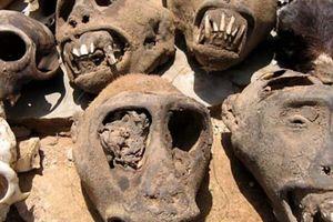 Cận cảnh chợ bùa ngải toàn đầu lâu, xương sọ ở châu Phi