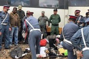 Tàu trật đường ray ở Ma-rốc, hơn 130 người thương vong
