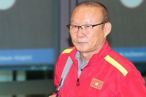 HLV Park Hang-seo lần đầu kém vui khi trở về Hàn Quốc