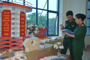 Bộ tư lệnh Thủ đô Hà Nội thực hiện hiệu quả các hoạt động về Ngày sách Việt Nam