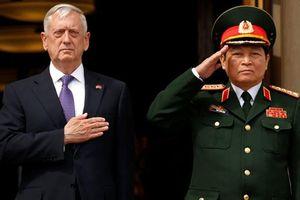 Bộ trưởng Mattis thăm VN, thúc đẩy hợp tác quốc phòng Việt - Mỹ