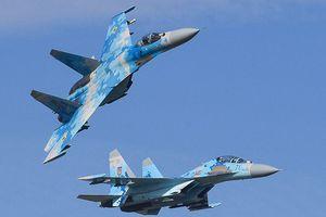 Su-27 rơi trong lúc huấn luyện, phi công Mỹ - Ukraine thiệt mạng