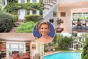 Ngắm biệt thự 4 triệu USD mới tậu của 'góa phụ đen' Scarlett Johansson