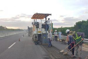 VEC khắc phục xong điểm hư hỏng ở cao tốc Đà Nẵng - Quảng Ngãi