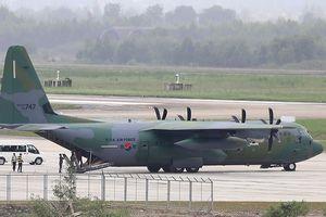'Ngựa thồ' C-130 của Hàn Quốc tích cực trợ giúp Indonesia