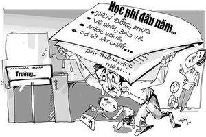 Phụ huynh bức xúc vì nhiều 'khoản thu tự nguyện' của trường Búp Sen Xanh