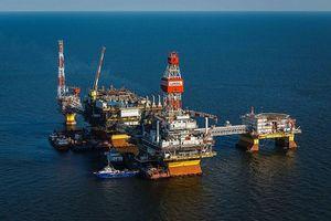 Nga bắt đầu xây dựng giàn khoan ở biển Caspian
