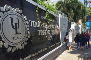 71 sinh viên Đại học Luật TP HCM có thể bị buộc thôi học