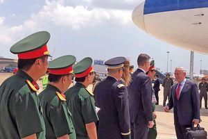 Bộ trưởng James Mattis: Mỹ quan ngại hành động 'trấn lột' của Trung Quốc