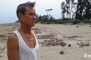 Thanh Hóa: Biển xâm thực 'nuốt' rừng phòng hộ, dân bỏ nhà đi lánh nạn