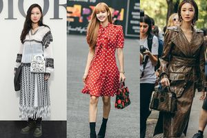 Cứ tham dự tuần lễ thời trang quốc tế mỹ nhân xứ sở kim chi lại trở thành tâm điểm thu hút