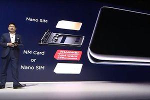Huawei giới thiệu thẻ nhớ Nano memory card hoàn toàn mới