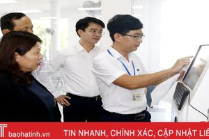 Cải cách hành chính tại Hà Tĩnh phục vụ tốt người dân, doanh nghiệp