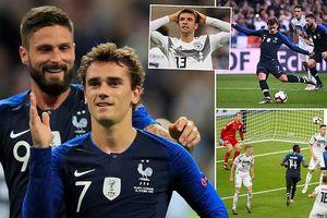 Thua Pháp, Đức đối diện với nguy cơ xuống hạng rất cao
