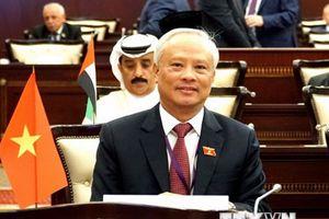 Quốc hội Việt Nam cam kết thúc đẩy hòa bình và phát triển bền vững