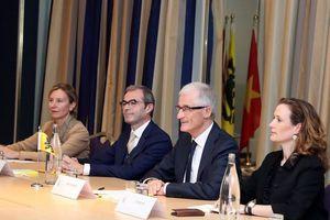 Các địa phương Việt Nam và vùng Flanders phát triển hợp tác bền vững