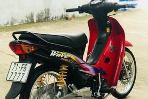 'Huyền thoại' Honda Wave ngũ quý 7, độ đồ trăm triệu của dân chơi Việt