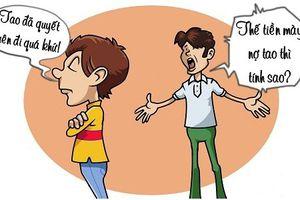 Trưa cười: Xù nợ vì bị thất tình