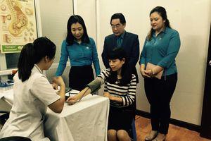 Tổ chức khám sức khỏe miễn phí cho hơn 600 nữ CNVCLĐ
