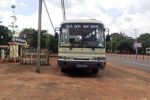 Gia Lai: Hiểm họa tiềm ẩn từ xe ô tô đưa đón học sinh