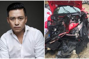 Tuấn Hưng lên tiếng về siêu xe bị tai nạn: 'Chỉ là tai nạn nhỏ và may mắn không làm tổn thương đến ai'