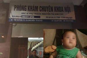Bé trai 22 tháng tuổi ở Hà Nội tử vong sau 5 phút truyền dịch ở phòng khám tư