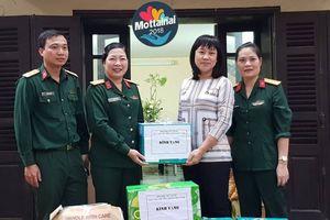 Cục gìn giữ hòa bình Việt Nam 'trao yêu thương' cùng Mottainai 2018