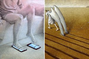 15 bức tranh biếm họa về thế giới giả dối mà chúng ta đang sống khiến bạn suy ngẫm