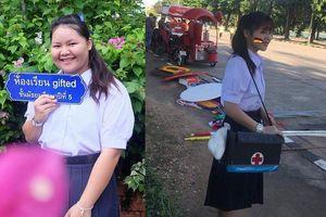 Màn 'lột xác' từ nàng béo 100kg đến thân hình chuẩn hotgirl của nữ sinh Thái Lan