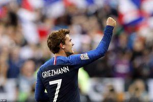 Cú đúp của Griezmannn giúp Pháp ngược dòng hạ gục Đức