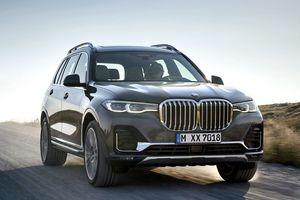 BMW X7 2019 ra mắt, sẵn sàng so găng Mercedes-Benz GLS