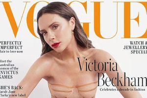 Victoria Beckham quyến rũ trên bìa tạp chí Vogue