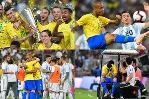 Toàn cảnh Brazil 1-0 Argentina: Neymar khiến Albicelestes ôm hận