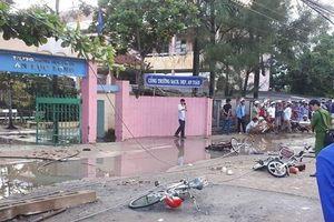 Dây điện rơi khiến 6 người thương vong ở Long An: Một học sinh muốn nghỉ học