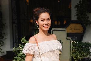 Nguyễn Ngọc Anh quyến rũ, ngọt ngào với váy áo nữ tính