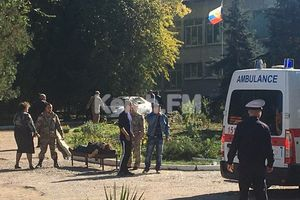 Nổ lớn ở trường học Crưm: Nghi có kẻ khủng bố xả súng giết hại giáo viên, học sinh