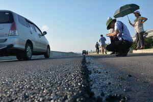 Nhà thầu sửa chữa xong mặt đường cao tốc gần 35 nghìn tỷ đồng