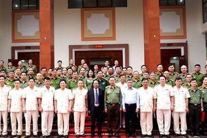 Bộ trưởng Tô Lâm: Công an Hải Phòng cần thực hiện tốt đề án sắp xếp, ổn định bộ máy