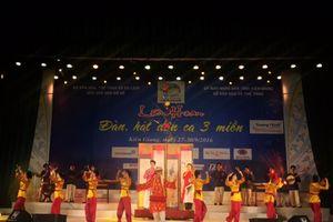 Hội diễn đàn, hát dân ca 3 miền
