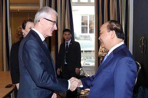 Thủ tướng đề nghị Bỉ tạo điều kiện để hàng hóa VN vào châu Âu