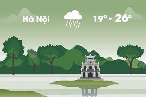Thời tiết ngày 18/10: Hà Nội lạnh 19 độ C, Sài Gòn mưa lớn
