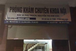 Phòng khám nơi bé trai tử vong không được phép truyền dịch