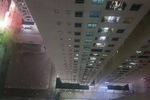 Bé sơ sinh rơi từ tầng cao chung cư HH Linh Đàm