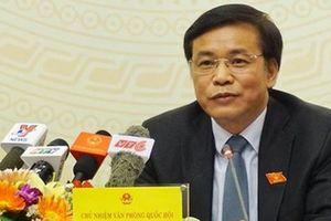 Đề nghị Bộ Công an làm rõ Chánh văn phòng Đoàn ĐBQH bị tống tiền