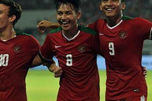 Chủ nhà U19 Indonesia thị uy sức mạnh trước U19 Đài Loan