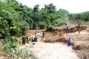 Phạt cá nhân 134 triệu đồng do khai thác vàng trái phép và xả thải ra môi trường